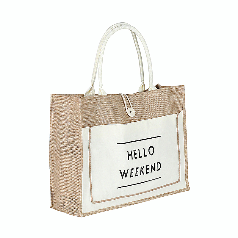 High Quality Linen Luxury Tote Large Capacity Female Casual Shoulder Bag for women Lady Daily Handbag Fresh Beach Shopping Bag in Shoulder Bags from Luggage Bags