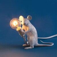 動物マウス装飾ゲームtafelランプnachtlampje ledランプの装飾リビングルームのテーブル寝室ホームデスクベッドサイドのランプ
