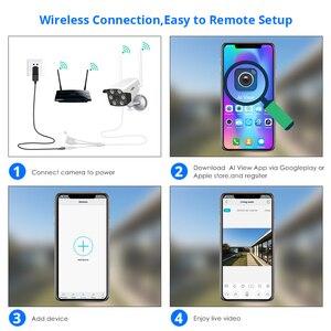 Image 5 - 1080P 2MP 4MP  WIFI IP Camera Outdoor ONVIF Wireless Waterproof Camera App Alarm Color Night Vision TF Card Hiseeu