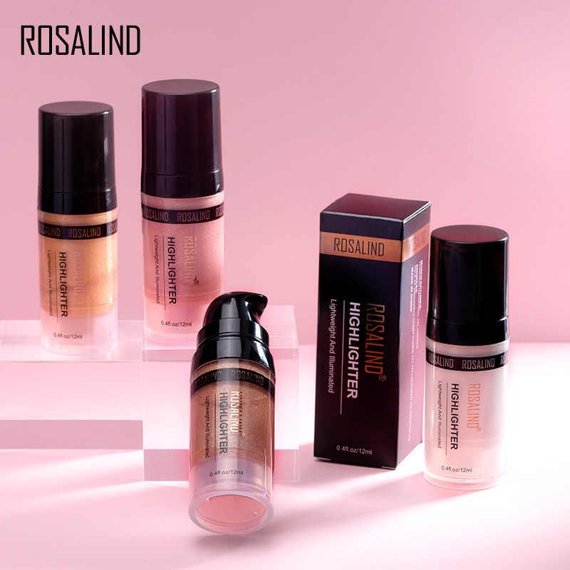 Maquillaje ROSALIND resaltador bronceador iluminador cosméticos maquillaje profesional completo 12ml para el revestimiento del cuerpo de la cara