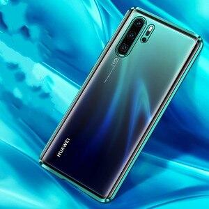 Image 3 - Magnetische Metalen Frame Case Op Huawei Honor 20 9X P30 P40 P20 Mate 30 20 Lite Nova 5T 7 pro Clear Hard Shockproof Back Cover