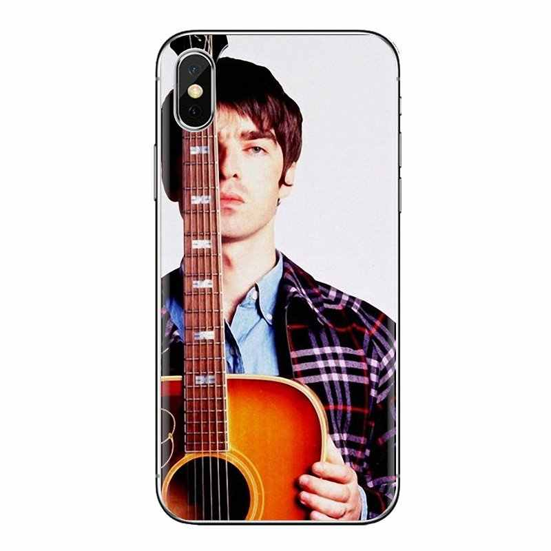 Transparent Soft Shell Covers For Xiaomi Redmi 4A S2 Note 3 3S 4 4X 5 Plus 6 7 6A Pro Pocophone F1 Noel Gallagher Oasis