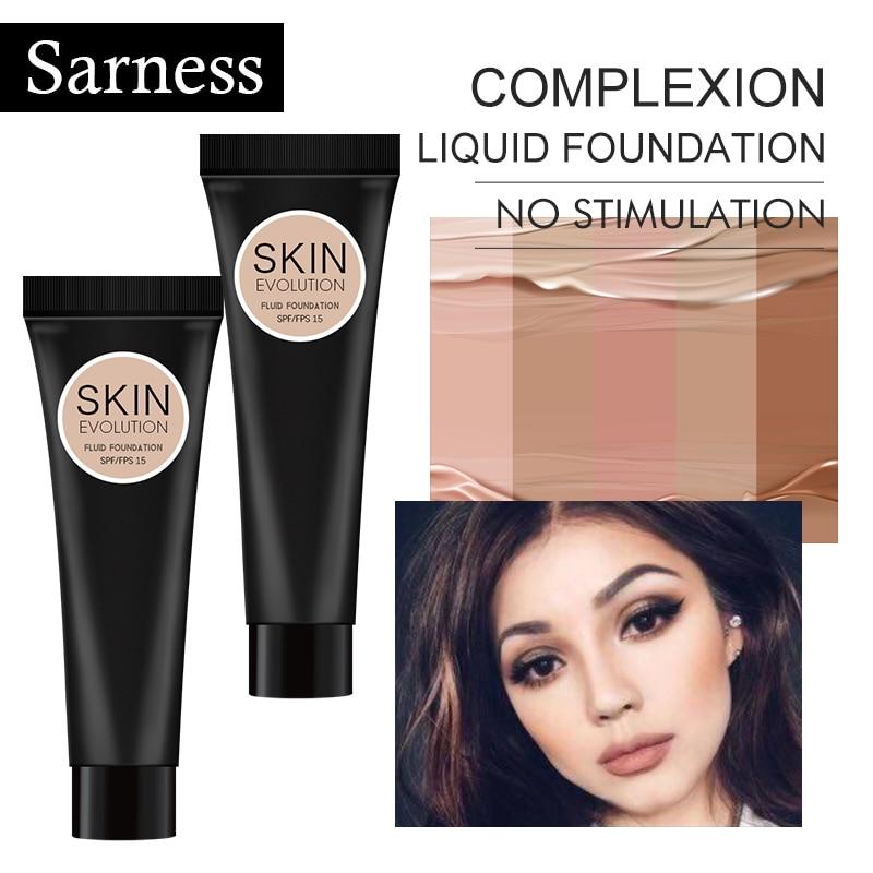 Sarness Makeup Bottom Face Foundation Moisturizer Primer Base Makeup Long Lasting Brand Water Powder Professional