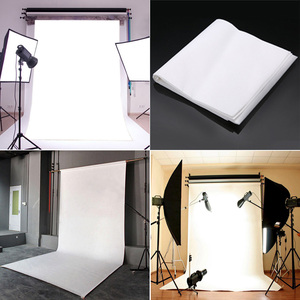 Image 4 - White Wall Photography Backdrop Cloth Studio Photocall  Private Ins Photo Background Photophone Camera 92cm * 152cm/3*5ft