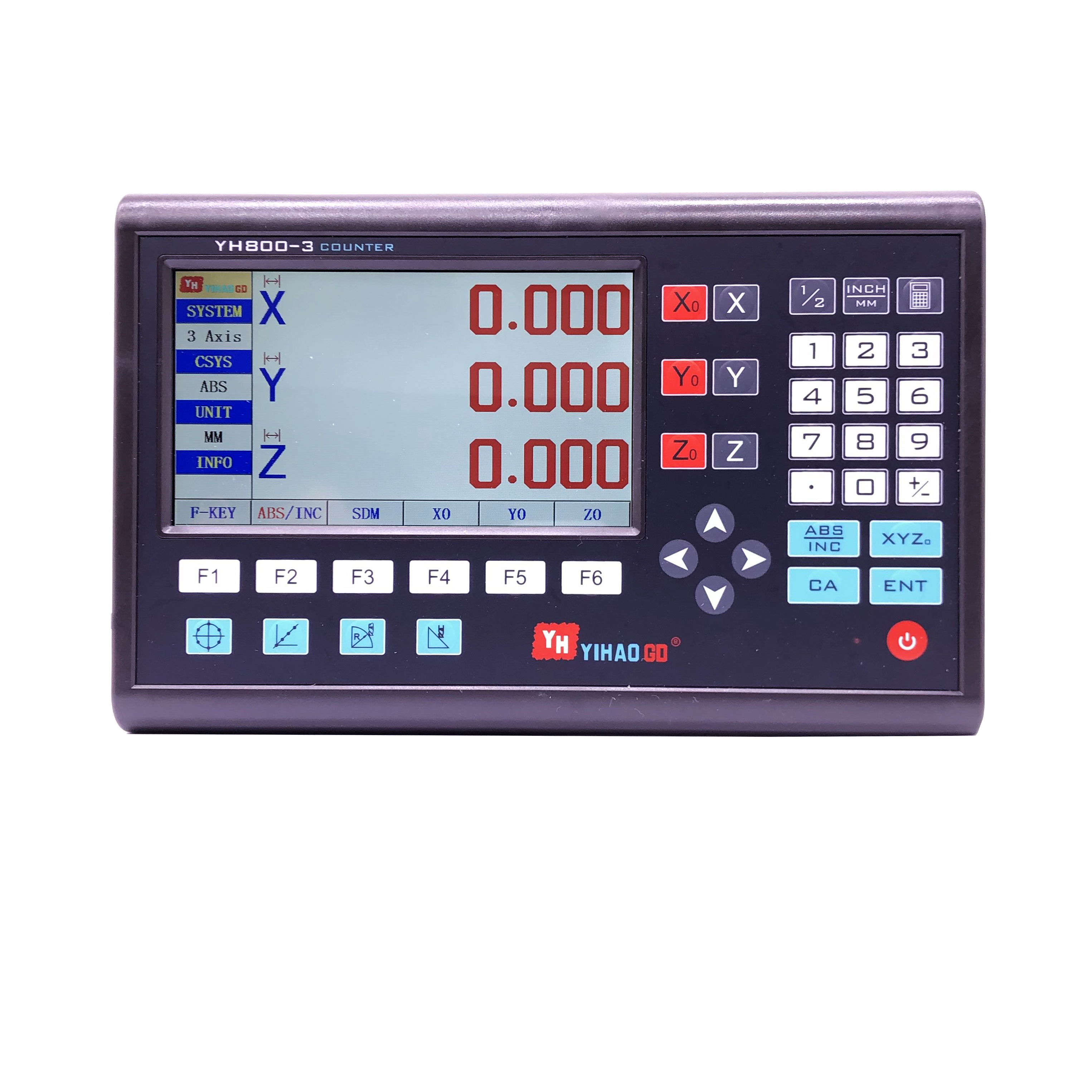2//3 Axis Digital Readout  DRO Display For Linear Scale CNC Milling Lathe Encoder