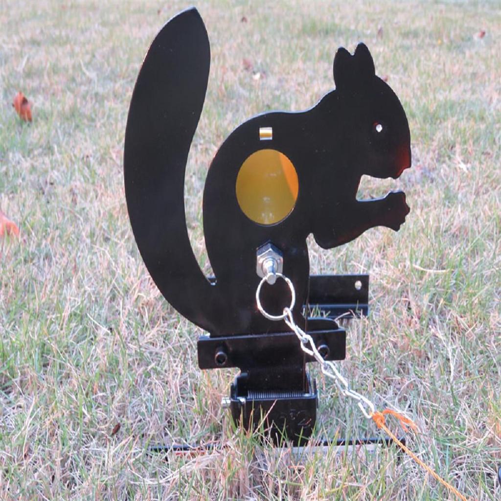Squirrel Field Target Animal Silhouette Target For Airgun Shooting Practice