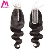 Transparent Lace Frontal 2x6 Lace Closure Body Wave Brazilian Human Hair Hd Lace Closure 2*6 Kim K Closure for Black Women
