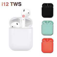 Leic i12 TWS True Wireless Earphones 5.0 Bluetooth Touch Control Sport Headphones Handfree