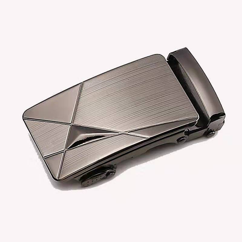 Belt buckle men's fashion luxury golden alloy automatic belt buckle belt men's belt belt buckle 3.5 cm ratchet accessories