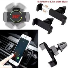 Car Phone Holder 360 Degree Support Mobile Air Vent Mount