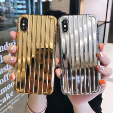 soft tpu phone case for iphone 7 8 6 x luxury cover for iphone xr xs xsmax 6 6s 7 8 plus suitcase case for iphone xsmax 8plus