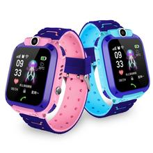 2019 Boy and girl smart watch Children's Phone Watch S9 Student Waterproof Positioning Smart Watch Male and female smart watch. все цены