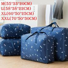 Portable Oxford Storage Bag Waterproof Folding Clothing Orga
