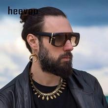 2020 Fashion Oversized Square Sunglasses Men T Metal Gradien