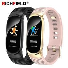 Smart Bracelet Waterproof SmartBand Drinking Reminder Fitness Activity Tracker Health Wristband Blood Pressure Watch Smart Band цена и фото