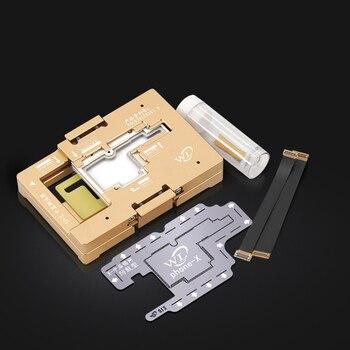 WL iPhone X placa base de toma de corriente placa lógica de prueba de función completa Detector rápido para cámara/Wifi comprobación/placa base táctil