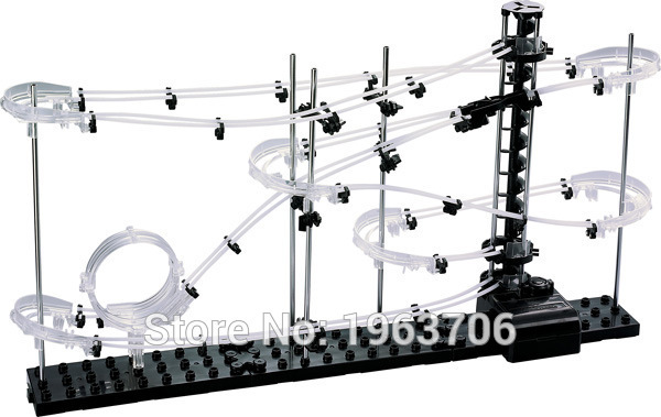 2015New Space Raill, Funny Building Kit, Roller Coaster Toys, SpaceRail Level 2, DIY Spacewarp Erector Set, 6500mm Rail 4
