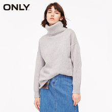 ONLY Women Winter Pure Colour Pullover turtleneck Sweater   119113501