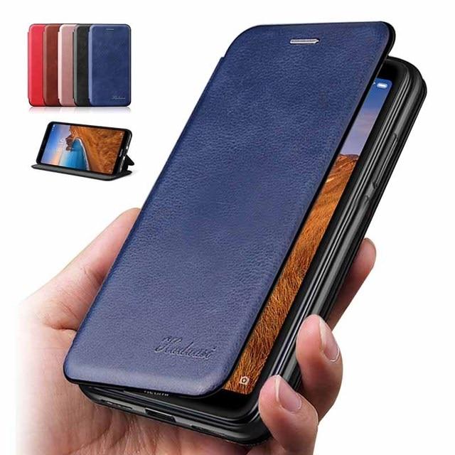 for xiaomi redmi 7 7a case Leather Flip Book Wallet Stand Phone Case on xiomi redmi 7a 7 a a7 etui caso cover redmi7 redmi7a