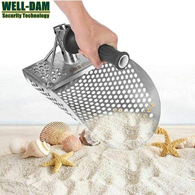 совок для пляжа купить - Gold Hunter PinPointer Metal Detector Gold Digger Beach sand scoop stainless steel sand scoop metal detector