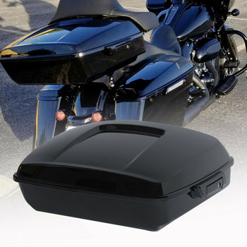 """Motorcycle 10.7"""" Chopped Trunk For Harley Tour Pak Touring Road King Electra Street Glide Special 2014-2020 2019 2018 2017 CVO"""