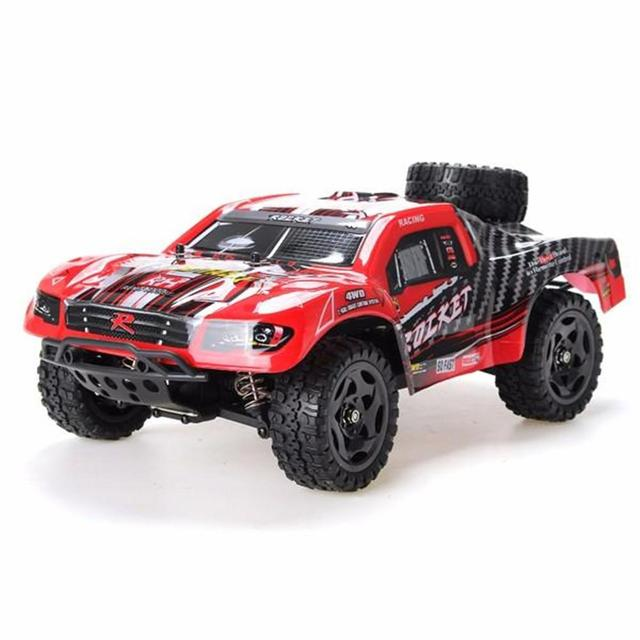 RCtown REMO 1621 1/16 RC Short Course Truck Car Kit with Car Shell Without Electronic Parts KIT
