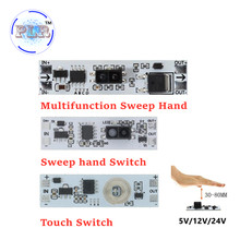 Short Distance Scan Sensor Sweep Hand Sensor Switch PLR 36W 3A Constant Voltage for Auto Smart Home Compatible XK-GK-4010A