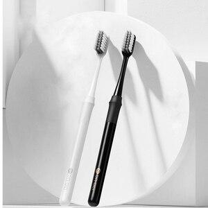 Image 3 - Оригинальная зубная щетка Youpin Doctor B с методом баса, улучшенная щетка, пара проводов, включая дорожную коробку для умного дома