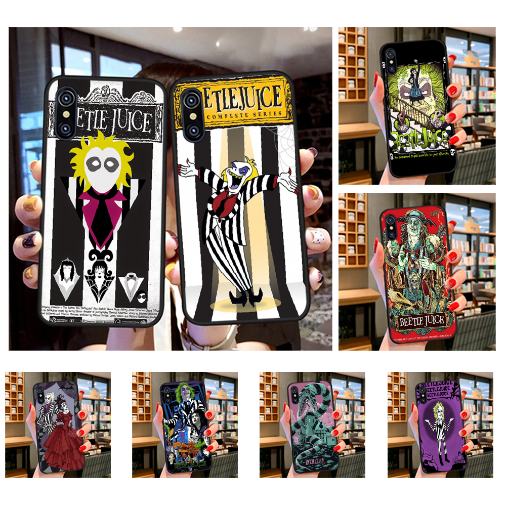 Nbdruicai Classic Cartoon Movie Beetlejuice Slim Soft Black Phone Case For Iphone 11 Pro Xs Max 8 7 6 6s Plus X 5s Se Xr Case Half Wrapped Cases Aliexpress