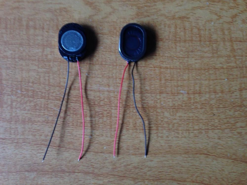 With wire horn 8R 8 ohm 8Ω 1W 2014 horn speaker line length 50MM length 20MM width 14MM