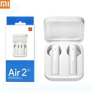 Xiaomi Air2 SE TWS Mi prawdziwe bezprzewodowe słuchawki Bluetooth AirDots pro 2SE 20H bateria dotykowa Xiaomi AirDots 2 S słuchawki douszne tanie i dobre opinie Dynamiczny CN (pochodzenie) Prawdziwie bezprzewodowe Do gier wideo Zwykłe słuchawki do telefonu komórkowego Sport NONE