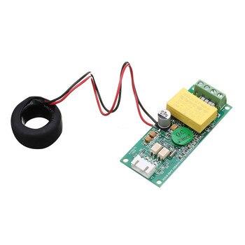 Ulepszona wersja PZEM 004T cyfrowy miernik AC amperomierz TTL aktualny współczynnik mocy miernik częstotliwości moduł z cewką 100A 80 260V w Mierniki napięcia od Narzędzia na