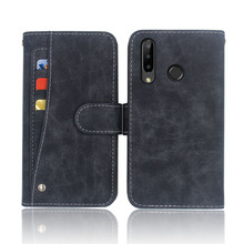Hot! Doogee N20 Y9 Plus Case High quality flip leather phone bag cover For with Front slide card slot