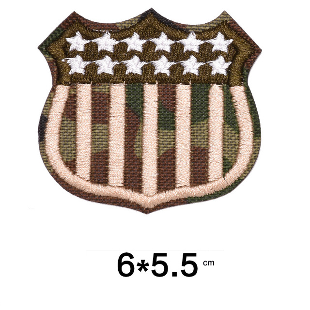 Military Embroidery Patches DIY Clothes Applique Army Embroidery Badges4