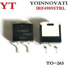 50 шт./лот IRF4905STRLPBF IRF4905SPBF IRF4905S F4905S Power MOSFET TO-263 IC лучшее качество