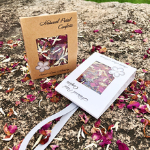10PCS natural wedding confetti FEESTIGO dried flower petals pop and party decoration biodegradable rose petal