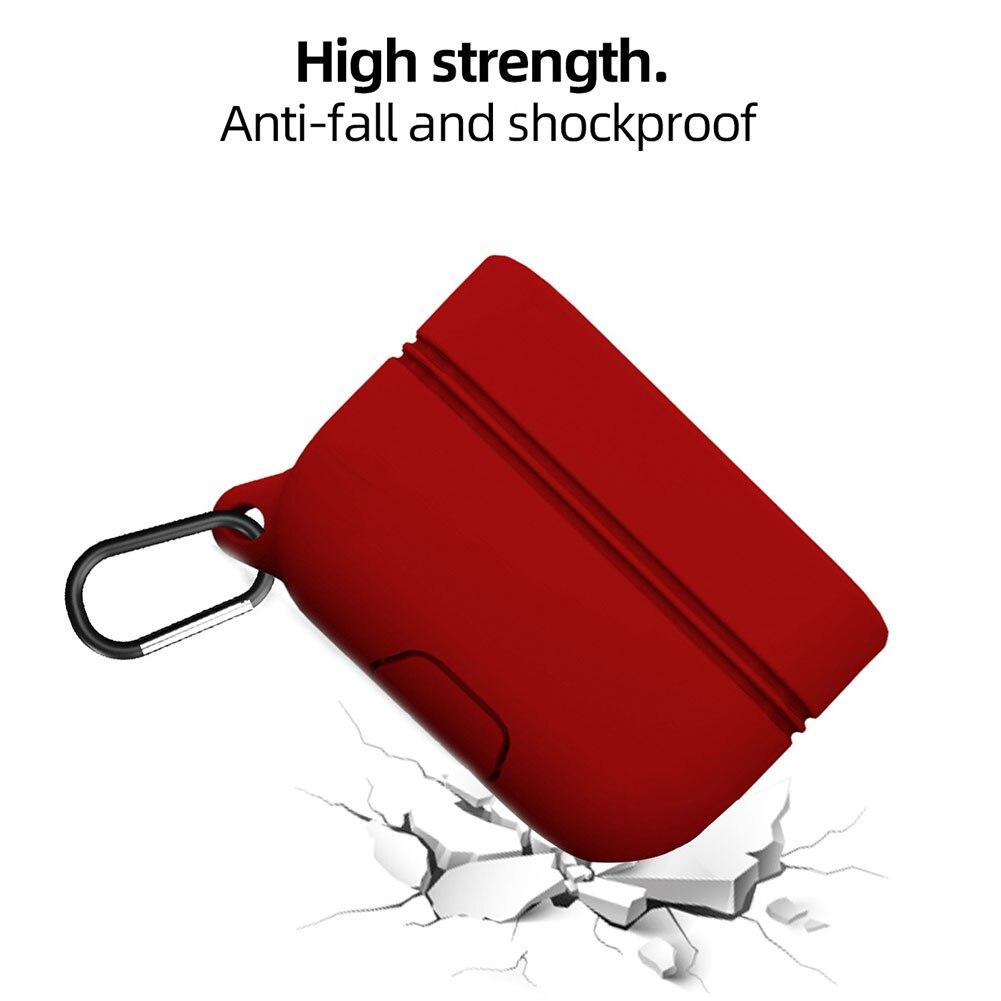 Soporte sólido compacto de transporte impermeable de silicona resistente a los golpes funda protectora portátil de almacenamiento para Sony WF 1000XM3