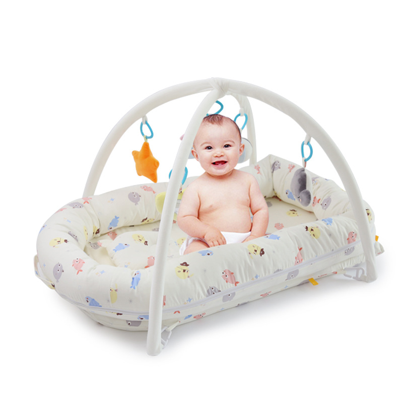 Playpens Baby Isolation Bed Safety baby playmat gym kids rugs crawling mat kids carpet toys for toddler boys children plush doll