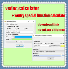 2020 HOT VENDER Calculadora Calculadora FDOK Vedoc Keygen Xentry Função Especial para MB Estrela C3 C4 C5 C6