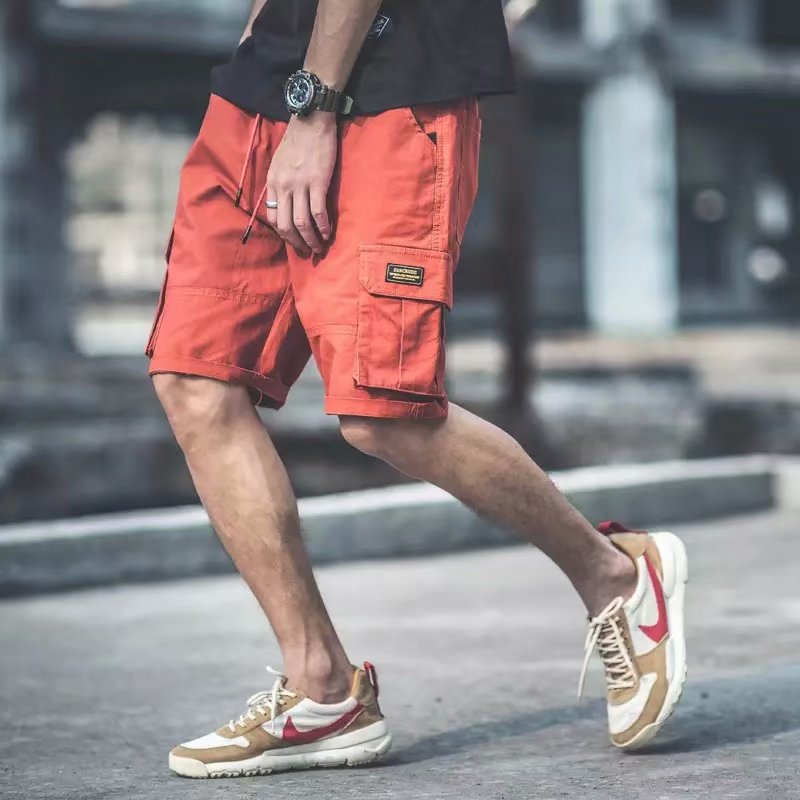 2019 Summer New Style Workwear Shorts Men's Korean-style Popular Brand Versatile Shorts Straight-Cut Casual Shorts