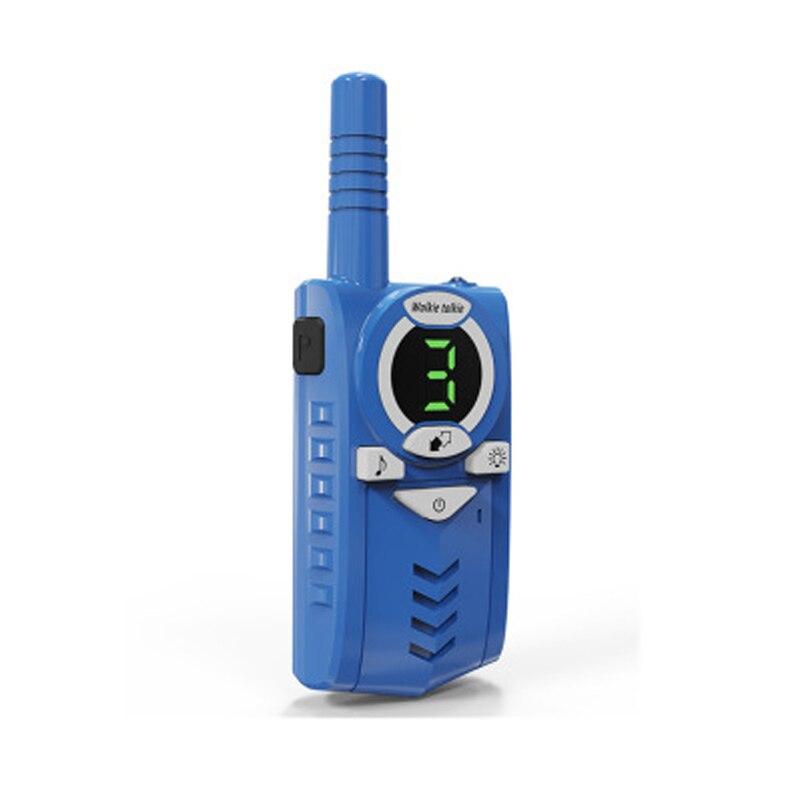 2Pcs/set Children's walkie talkie T6 3 Channels wireless small mini civil walkie talkie micro USB 5V charging outdoor handheld