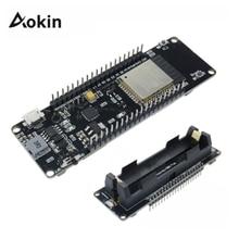 ESP8266 ESP32 ESP 32S pour WeMos WiFi carte de développement sans fil Bluetooth CP2102 CP2104 Module avec bouclier de batterie au lithium 18650