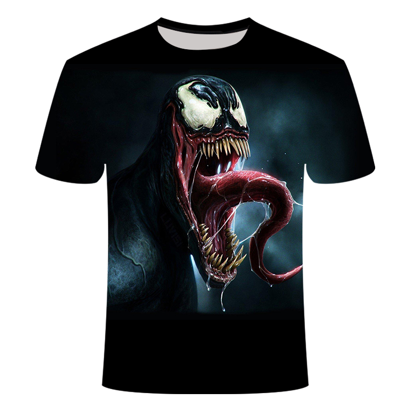 "Новинка, Мужская Футболка Venom, футболка ""Марвел"", 3D принт, футболка s, мужская, женская, Повседневная футболка, футболка для фитнеса, футболки, топы - Цвет: TX-040"