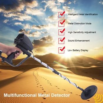 цена на Metal Detectors MD4030 Professional Gold Underground Search Finder Seeking Tool Metal Detector Deep Target Treasure Hunter