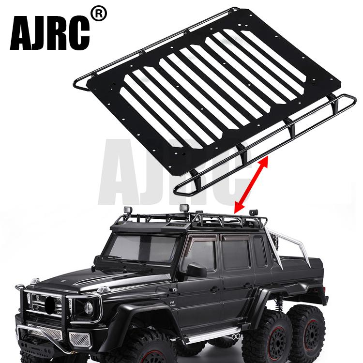 TRAXXAS TRX-6 G63 TRX4 G500 Mercedes 6x6 Metal Luggage Rack With Ceiling Light