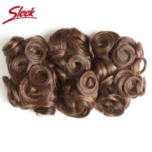 Гладкий бразильский Remy кудрявые человеческие волосы двойной нарисованной фортепиано цвет 4/27 #4/30 #1B/30 # пряди наращивание волос 3 шт/партия бе...