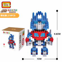 Building Block Plastic Small Particle Puzzle Toy Micro Diamond Particle Building Block Robot Toy lok yee 6508 intelligence improving building block toy blue green yellow red