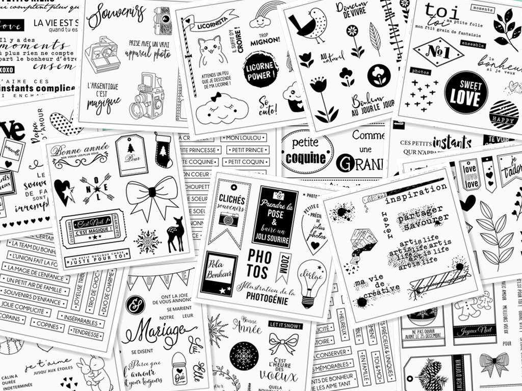Word Silicone Clear Rubber Stamp DIY Cute Pattern Photo Album PaperCard Decor Asking For Photos