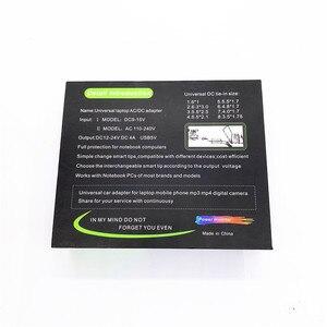 Image 5 - Universal 8 conectores xtip ac/dc para dc 120 w inversor carregador de carro fonte de alimentação adpter com carregador de carro adaptador cabo para portátil