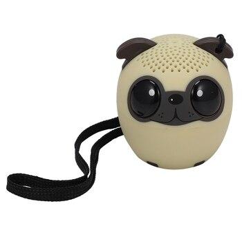 Portable Cartoon Speaker TWS Bluetooth Selfie BM6 Cute Pet - discount item  50% OFF Portable Audio & Video